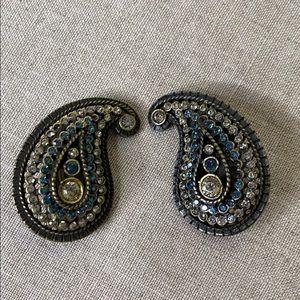 Vintage Paisley Earrings